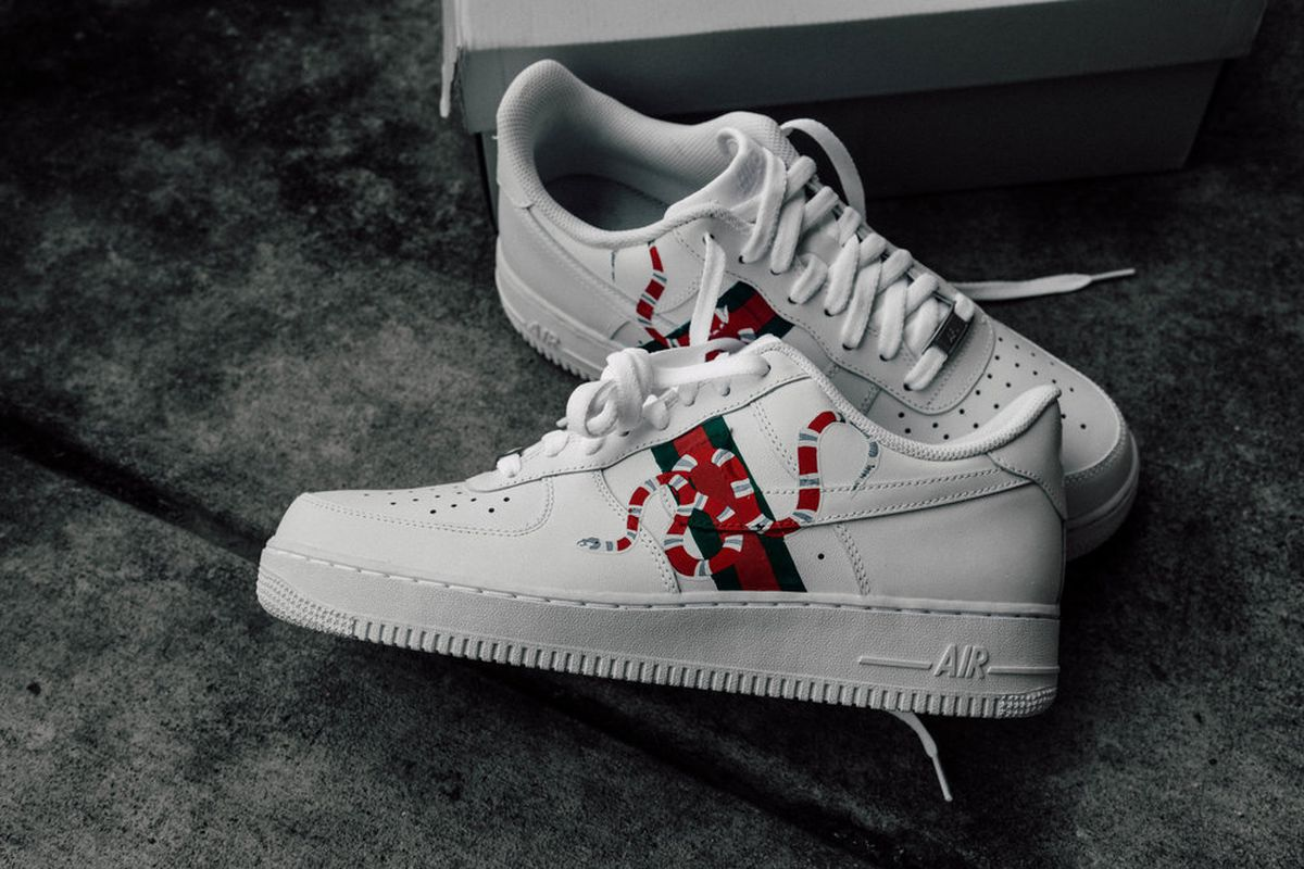 These Gucci Inspired Air Force 1 Can Now Be Yours