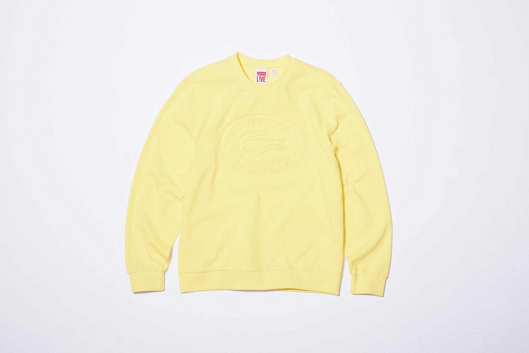 de8c14a630b1 lacoste-supreme-yellow-crewneck-2017-spring-summer-16 - The Cut