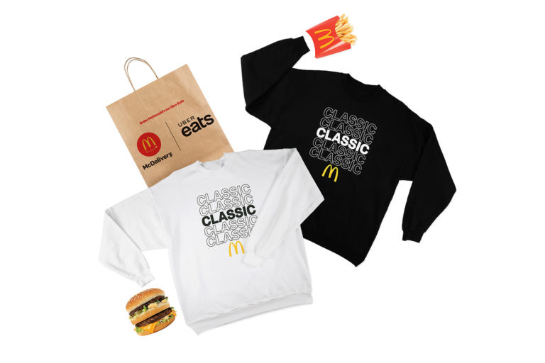 REDDS | THE CUT | MCDONALDS FREE MERCH MCDELIVERY DAY