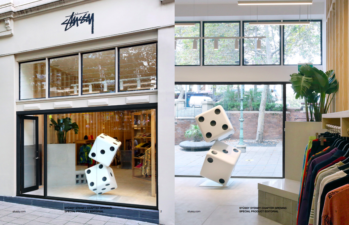THE CUT | NEW STUSSY STORE SYDNEY