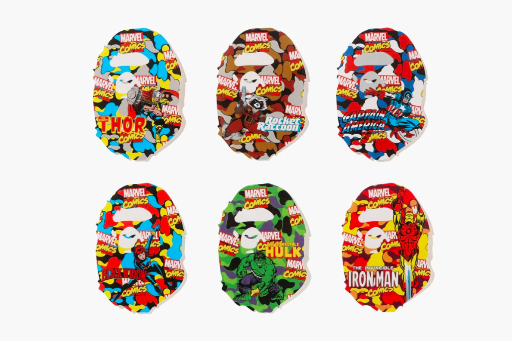 THE CUT | BAPE RELEASE MARVEL COMIC COLLABORATION