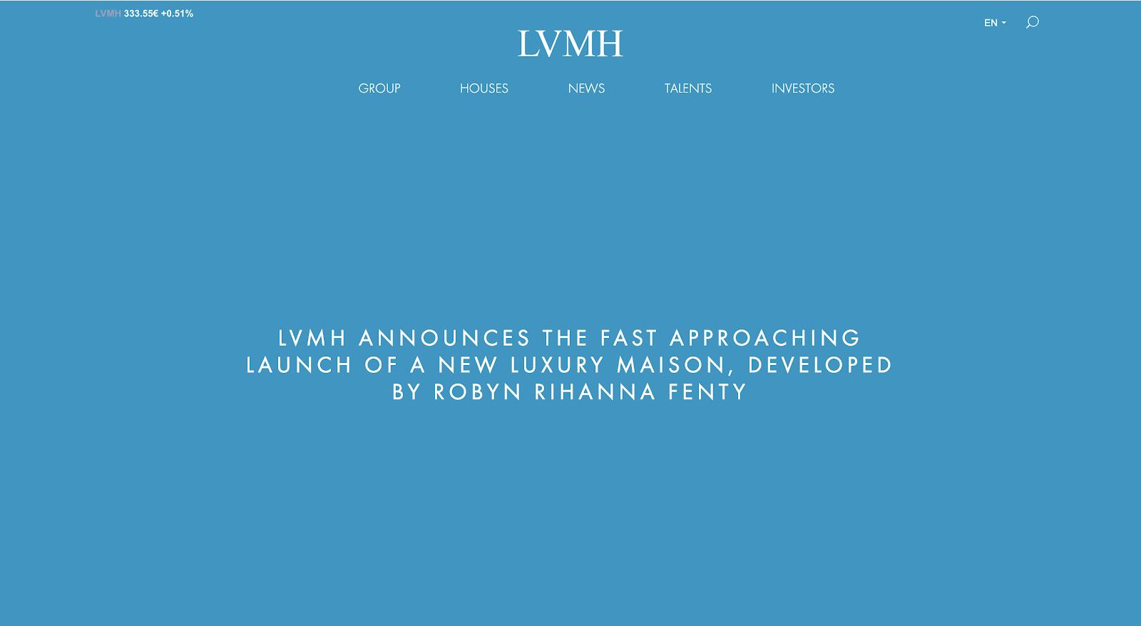 THE CUT | RIHANNA LVMH FASHION LINE